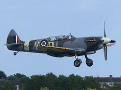 Spitfire ML407 (gulfstreamchaser) Tags: ml407 supermarine tr9 spitfire jlt egsu iwm duxford