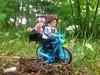 Together on the bike (sander_sloots) Tags: h hansolo qira bike lego starwars fiets bokeh holten twenhaarsveld