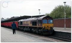 Class 66 (zweiblumen) Tags: class66 66092 derbystation derby derbyshire england uk train freight diesel coco ews canoneos50d canonef35mmf2 zweiblumen picmonkey