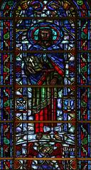 Saint Matthias (Lawrence OP) Tags: apostles saints stignatiusschurch sanfrancisco jesuit stainedglass window apostle matthias axe