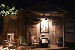 Front Porch (Adventurer Dustin Holmes) Tags: 2018 wondersofwildlife porch xxx frontporch fish fishmounts rockingchair chairs