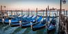Gondola galore (filipmije) Tags: gondola venice laguna evening light eveninglight sea shore boat italy blue