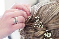 Wedding Day E&G (Florine Photos) Tags: wedding preparation weddinghair