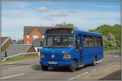 A-LIne KE04 TWN (Jason 87030) Tags: blue merc benz merceded beaver marina braunston northants northamptonshire sky weather traffic bus school contract service wheels plaxton may 2018 ke04twn