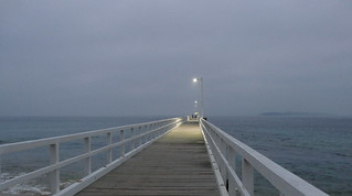 A misty morning at Point Lonsdale