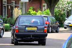 1992 Volvo 240 GLE (Dirk A.) Tags: dprz63 onk sidecode2 1992 volvo 240 gle