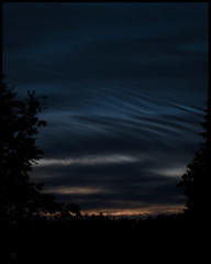 C V (*TimeBeacon*) Tags: clouds cloudscape sky night dark dusk trees