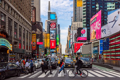 Times Square scene (John_ILCA-68) Tags: timessquare newyork usa america street