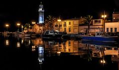 PALAVAS LES FLOTS (joboss83) Tags: phare bateau mer sea architecture boat nuit eau night méditerranée hérault france refles fleuve