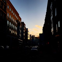 Tramonto a Londra (falco di luna) Tags: tramonto londra sunset