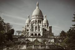 Basilique du Sacré-Cœur. Paris ; France (-eXpLoRiOn-) Tags: frankrijk parijs uitstap