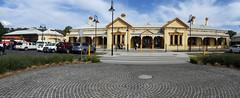 Wagga Wagga Railway Station (PhotosbyDi) Tags: waggawaggarailwaystation waggastation railwaystation trainstation wagga heritage architecture panorama panasoniclumix panasonicfz300 lumixfz300