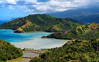 Davao Oriental (Sumarie Slabber) Tags: island ocean sea mountains water clouds philippines trees village sumarieslabber hills valley nature greens mindanao