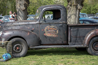 Kersey Mill, Drive It Day-Ford Pickup