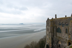 Grey Day - Mont Saint-Michel, France (www.caseyhphoto.com) Tags: d800 europe france nikkor nikon grey day montsaintmichel travel traveling traveler traveller travels traveled adventure adventurer adventuring explore explorer exploring vacation tourism tourist wanderlust wandering holiday culture cultura cultural photography photographer casey herd ar 1635f40 architecture architectural architectuur arquitectura structure structural water agua sky cielo medieval history historic