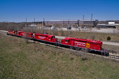 Newbies (Trainboy03) Tags: canadian pacific cp 5107 5109 6306 6025 silvis illinois il
