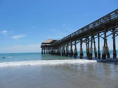 Cocoa Beach pier (RS Pictures) Tags: cocoa beach fl florida usa brevard county surf pier wooden