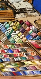 pastels in pastel