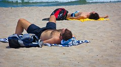 Beach Guys (LarryJay99 ) Tags: 2018 beach streets people ftlauderdale ocean atlanticocean men male man guy guys dude dudes manly virile studly stud masculine sexyman hairychest hairyman hairy bodyhair legs shirtless facair bulge bulges bulging pouch manspreading spreadlegs openlegs spread hotman urbanbackpackers sunning unsuspecting unaware unposed hotdude hunks sexymen peekingpits peeking peekingnipples