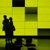 stylish (Cosimo Matteini) Tags: cosimomatteini ep5 olympus pen m43 mzuiko45mmf18 london kingscross shop people candid silhouette yellow light stylish