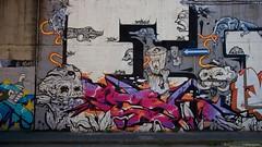 IMGP9780 E (Claudio e Lucia Images around the world) Tags: graffiti streetart milano vialemonza ferrovia via pontano milanese pentax pentaxk3ii sigma sigma1020 pittura face faccia murale art viapadova padova persone muro murales