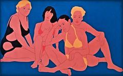 Baigneuses/Bathers (1971) - Nikias Skapinakis (1931) (pedrosimoes7) Tags: nikiasskapinakis vividstriking ✩ecoledesbeauxarts✩ caloustegulbenkianmuseum moderncollection lisbon portugal popart