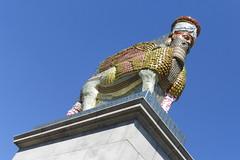 Trafalgar Square: Lamassu (carolyngifford) Tags: trafalgarsquare fourthplinth lamassu michaelrakowitz sculpture