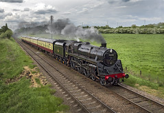 73156 (Geoff Griffiths Doncaster) Tags: 73156 woodthorpe gcr great central railway steam train standard 5 five