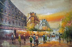 Boulevard Malesherbes, Art Painting / Oil Painting For Sale - Arteet™ (arteetgallery) Tags: arteet oil paintings canvas art artwork fine arts architecture building city travel europe tourism landmark old town street sky history tower roof historical culture historic exterior cityscape house famous cathedral european buildings monument summer landscape houses urban tourist panorama capital structure traditional stone france cities impressionism orange grey paint