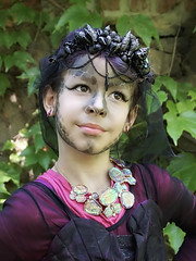 Meerjungfrau / Mermaid (ingrid eulenfan) Tags: wavegotiktreffen 2018 leipzig le wgt wave wgt2018 gothicfestival gothic gotik gotic kindermodel meerjungfrau