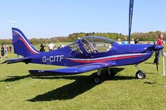 G-CITF (GH@BHD) Tags: gcitf evektor evektoraerotechnik ev97 eurostar eurostarsl microlight pophammicrolighttradefair2018 pophamairfield popham aircraft aviation