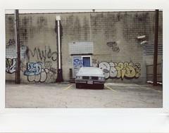 Instax No. 15 (travislikesfilm) Tags: travislikesfilm travisyoung instantfilm instax instaxwide fuji polaroid110b modified converted graffitti kansascity patrickgputz conversion