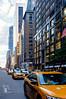 Fuller Building (PUAROT) Tags: américa calle ciudad city color colores edificio edificios fotografia fotografía foto fondo fuji fujifilm fujix100t coches luz manhattan newyork nyc nuevayork puarot photography street travel viaje wwwcesarcalvocom taxi