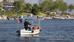 Fisherman On The Boat On The River (reklampromosyon) Tags: fisherman boat river water sea man