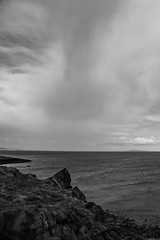 Lauriston and Crammond with Alastair April 2018 (120 of 126) (Philip Gillespie) Tags: crammond lauriston castle keep gardens park green blue red yellow orange colour color mono monochrome black white sea seascape landscape sky clouds drama dramatic walkway path flowers leaves trees april spring defences canon 5dsr people rust metal grafitti man dog petals bluebells dafodils holly blossom pond forth water wet rain sun reflections architecture mirrors gold japan garden sunlight scotland