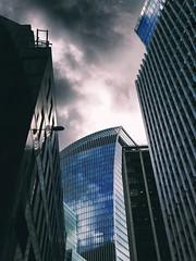 Fenchurch Street, London (The Phoenix Girl) Tags: perspective angle city cityscape london uk fenchurchstreet walkietalkie england europe urban greatbritain unitedkingdom londoner londonist nikon composition