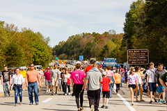 Bridge Day 2017 (Lauren Delgado) Tags: canon t2i 2470 west virginia wv mountain state mountains scenic drive scenery beautiful fall autumn colors new river gorge bridge day crowds fayetteville