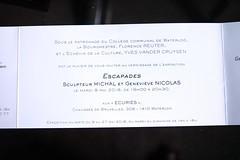 IMG_9319 (Patrick Williot) Tags: waterloo ecuries exposition expo vernissage michal sculpture sculpteur genevieve nicolas