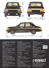Renault 12 Alpine (Hugo-90) Tags: renault argentina 12 alpine ads advertising brochure car auto automobile