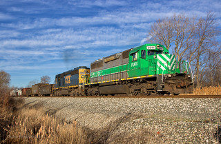 Silver and Green, but on CSX