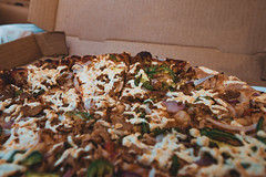 Vegan Pizza from Pizza Luce (Tony Webster) Tags: daiya minnesota pizzaluce pizzalucé pizza redonion vegan vegancheese veganpizza