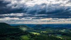 Light in the Valley... (Ody on the mount) Tags: anlässe drama em5ii himmel landschaft mzuiko2518 omd olympus rosberg schwäbischealb wanderung wolken clouds landscape sky