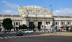 Train Station in Milano (scott1346) Tags: building station train architecture sky 1001nights 1001nightsmagiccity timelessmoments italy canont3i