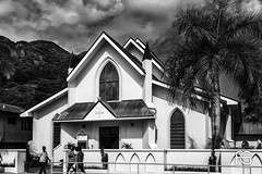St. Paul's Cathedral, Mahe Island (Fabien Georget (fg photographe)) Tags: stpaulscathedral mahe islandnoir et blanccathédrale monument landscape paysage sky blue ayezloeil beautifulearth bigfave canoneos5d canon elitephotography elmundopormontera eos fabiengeorget fabien fgphotographe flickr flickrdepot flickrunited georget geotagged flickunited longue mordudephoto nature paysages perfectphotograph perfectpictures wondersofnature wonders supershot supershotaward theworldthroughmyeyes shot photography photo greatphotographer bw slowshutter lesseychelles