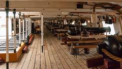 HMS Warrior-DSC_0676 (Mabu63) Tags: 1860 68pounder hmswarrior hampshire hants museum muzzleloading nationalmuseumoftheroyalnavy portsmouth portsmouthhistoricdockyard royaldockyard royalnavy victorian armoured canon gun gundeck ironclad sail steam