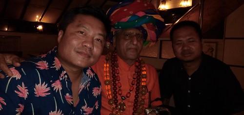 Met Manipuri Warnab And Star At Jimmy S Kitchen Chinese Restaurant