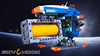 Sky Hook (David Roberts 01341) Tags: lego spaceship spacecraft cargo containerhandler scifi minfigure colourful space technic