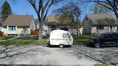 In The Neighbourhood (POP SNAP) Tags: winnipeg manitoba canada trailer campertrailer traveltrailer