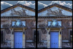 Königlicher Marstall, Dresden 3-D / CrossView / Stereoscopy / HDRaw (Stereotron) Tags: saxony sachsen dresden elbflorenz klassizismus architektur royal königlich marstall stall pferde europe germany deutschland crosseye crossview xview pair freeview sidebyside sbs kreuzblick 3d 3dphoto 3dstereo 3rddimension spatial stereo stereo3d stereophoto stereophotography stereoscopic stereoscopy stereotron threedimensional stereoview stereophotomaker stereophotograph 3dpicture 3dimage hyperstereo canon eos 550d chacha singlelens kitlens 1855mm tonemapping hdr hdri raw