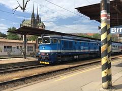750.713-0 Brno 10-05-18 (Tin Wis Vin) Tags: locos railways cd brno czech czechrepublic 7507130
